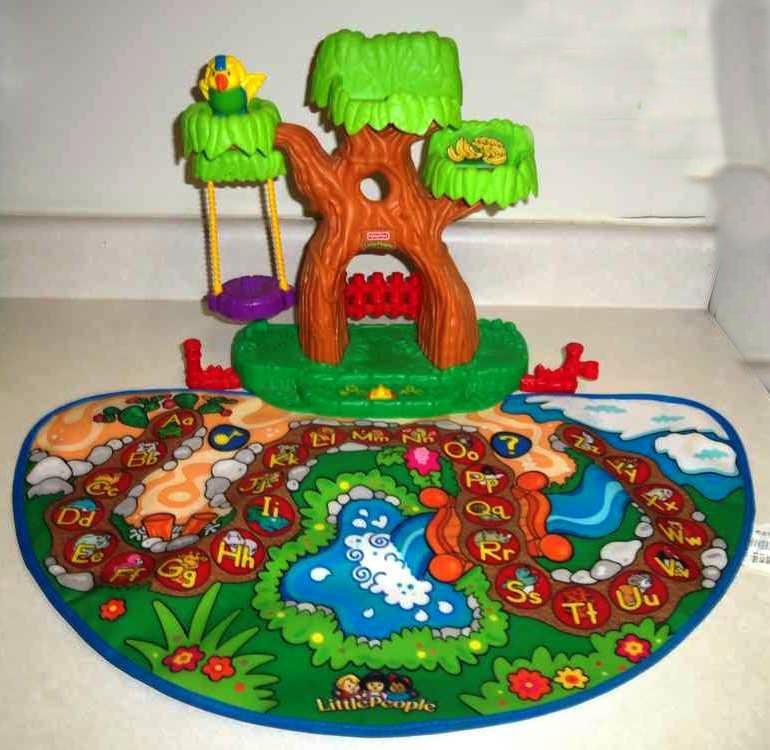 Fisher Price J0134 Little People A To Z Learning Zoo