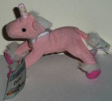 Mcdonald S 2001 Toys R Us Animal Alley Darla The Unicorn With Tag