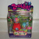 Zoobles Two-Pack Hop 2 It #063 and Phoenix #064 Happitat Toy New in Package