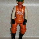 Vintage Fisher-Price Adventure People Motorcycle Driver Figure 1976 Loose Used
