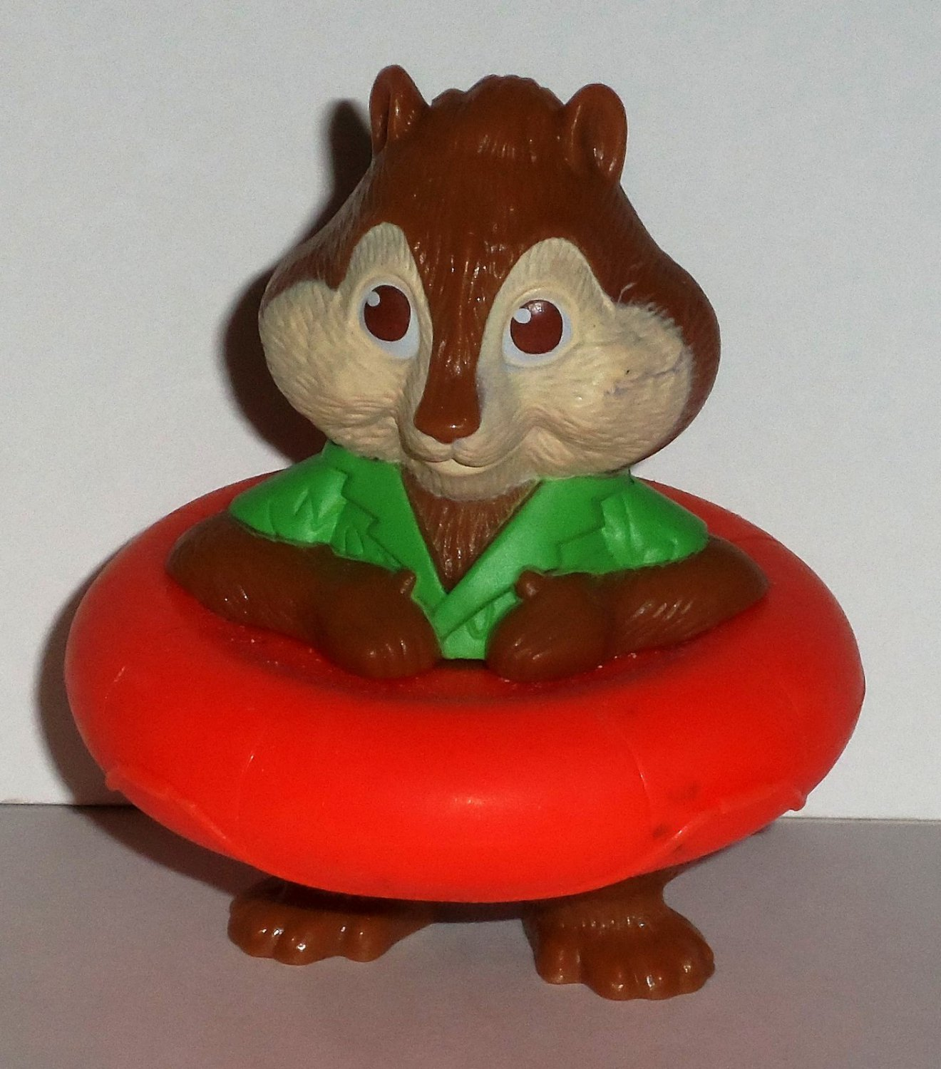 Mcdonald S Alvin And The Chipmunks Chipwrecked Theodore In Inner Tube Happy Meal Toy Loose Used