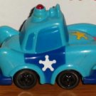 Wendy's 2006 Cartoons Blue Police Car Kids Meal Toy Loose Used