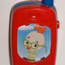 Disney Chicken Little Talking Slide Camera Cell Phone Toy Loose Used