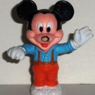 Disney Mickey Mouse PVC Figure Arco Loose Used Damaged