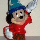 Disney Mickey Mouse Fantasia Plastic  Bottle Top Figure Loose Used