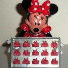 Disney Hasbro Minnie Mouse Play-Doh Stamper Cookie Sheet  Figure Loose Used