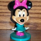 Kellogg's 2006 Disney Minnie Mouse Bobblehead Toy Loose Used