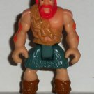 Fisher-Price Imaginext Dinosaurs Caveman Figure Brown Shirt Red Hair Mattel Loose Used