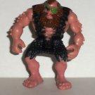 Fisher-Price Imaginext Dinosaurs Caveman Figure Eye Patch Mattel Loose Used