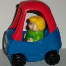 Burger King 2005 Little Tikes Cozy Coupe Car Kids Meal Toy Loose Used