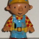 Bob The Builder PVC Figure with Magnetic Feet and Soap Bubbles Loose Used