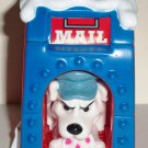 McDonald's 2000 Disney's 102 Dalmatians Dog in Blue & Red Mailbox Happy Meal Toy Loose