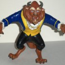 """Disney's Beauty and the Beast 5"""" PVC Figure Just Toys Loose Used"""