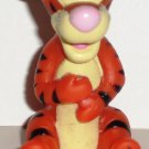 Disney Winnie the Pooh Tigger Pink Nose Hollow Plastic  Figure Loose Used