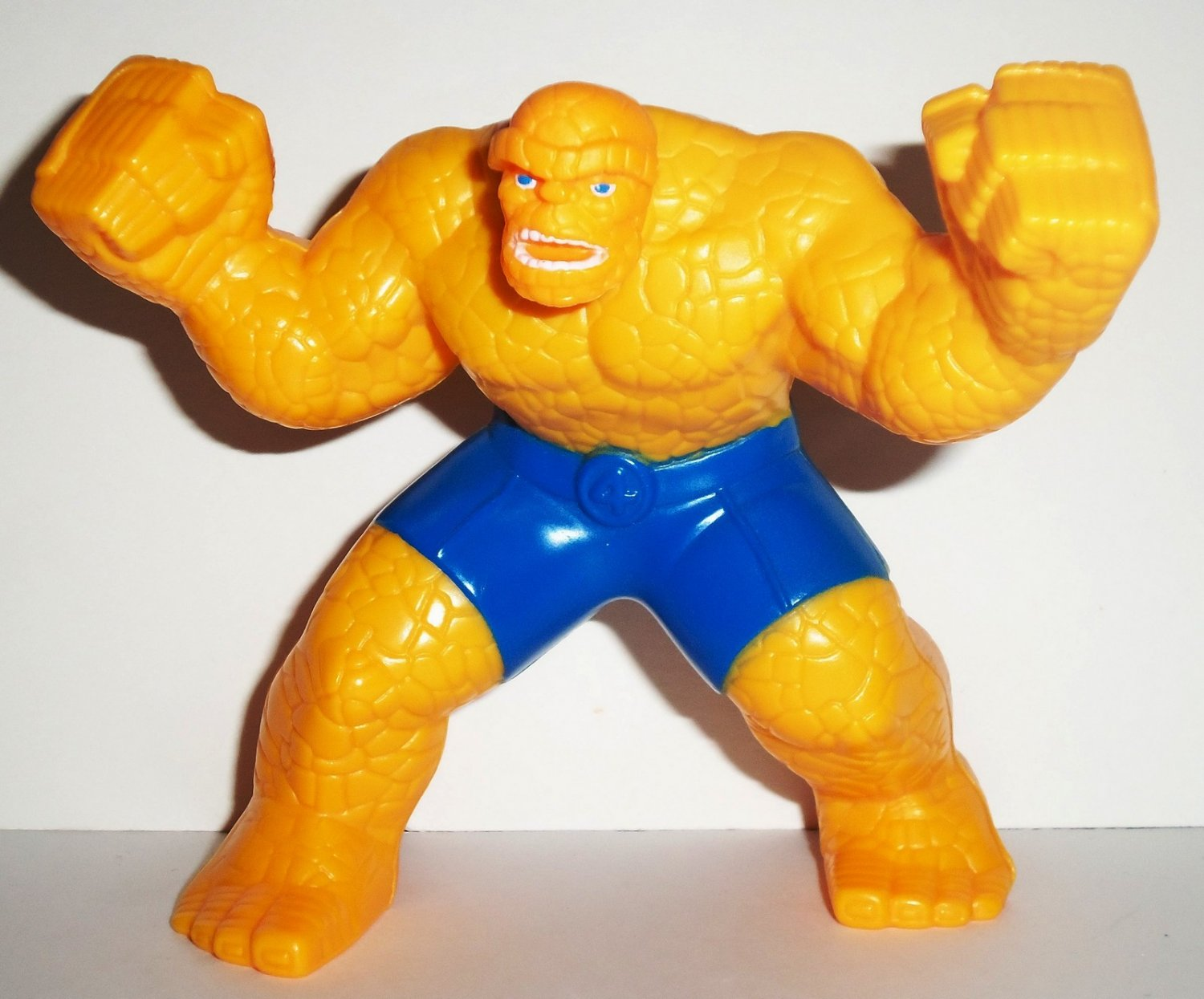 Toys For 4 : Mcdonald s marvel heroes the thing fantastic four