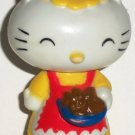 Hello Kitty Collectibles Mom PVC Figure CBS Toys 1983 Loose Used