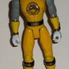Power Rangers Ninja Storm Yellow Wind Flash Ranger Action Figure Loose Used