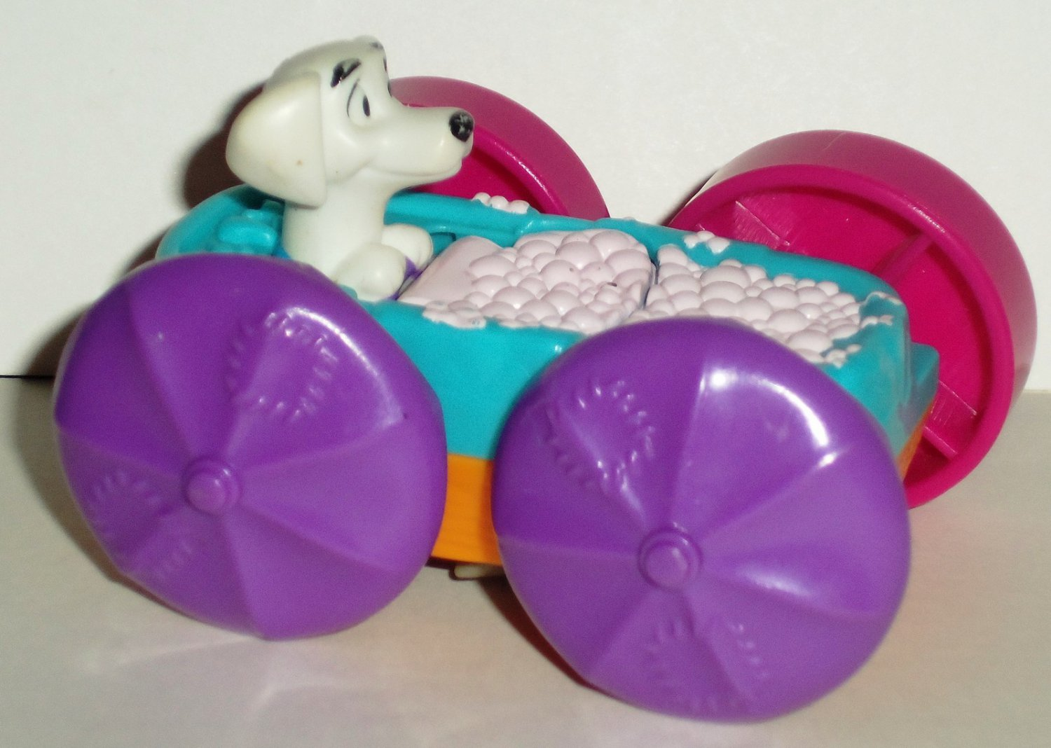 Mcdonalds 1998 101 Dalmatians Flip Car Dog In on hardware 1990 movie