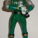 Power Rangers Ninja Storm Green Samurai Battle Action Figure Bandai Loose Used