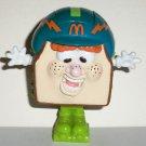 McDonald's 1993 Food FUNdamentals Otis The Sandwich Happy Meal Toy Hasbro Loose Used