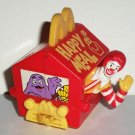 McDonald's 1994 Happy Birthday Train Ronald McDonald in Happy Meal Box Toy Loose Used