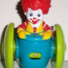 McDonald's Fisher-Price 2006 Ronald McDonald Rolling Counting U3 Happy Meal Toy Mattel Loose Used