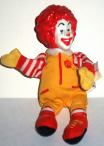 ebff48d78de McDonald s 2002 World Childrens Day Ronald McDonald Finger Puppet Happy  Meal Toy Loose Used