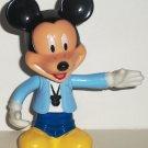 Disney 's Mickey Mouse Plastic Figure Mattel N3830 Loose Used