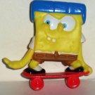 General Mills 2011 SpongeBob Squarepants Skateboarder Cereal Toy Loose Used