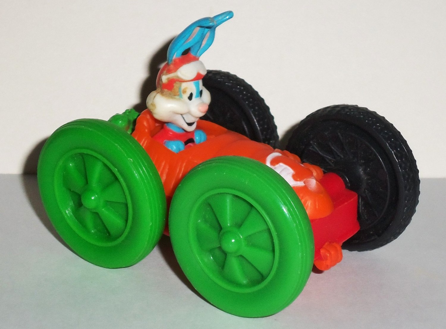 McDonald's 1991 Tiny Toons Adventures Flipcar Buster Bunny & Elmyra Happy Meal Toy
