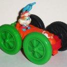 McDonald's 1991 Tiny Toons Adventures Flipcar Buster Bunny & Elmyra Happy Meal Toy