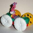 McDonald's 1991 Tiny Toons Adventures Flipcar Babs Bunny & Plucky Duck Happy Meal Toy