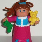 McDonald's 1992 Cabbage Patch Kids Lindsey Elizabeth Holiday Dreamer Happy Meal Toy Loose Used