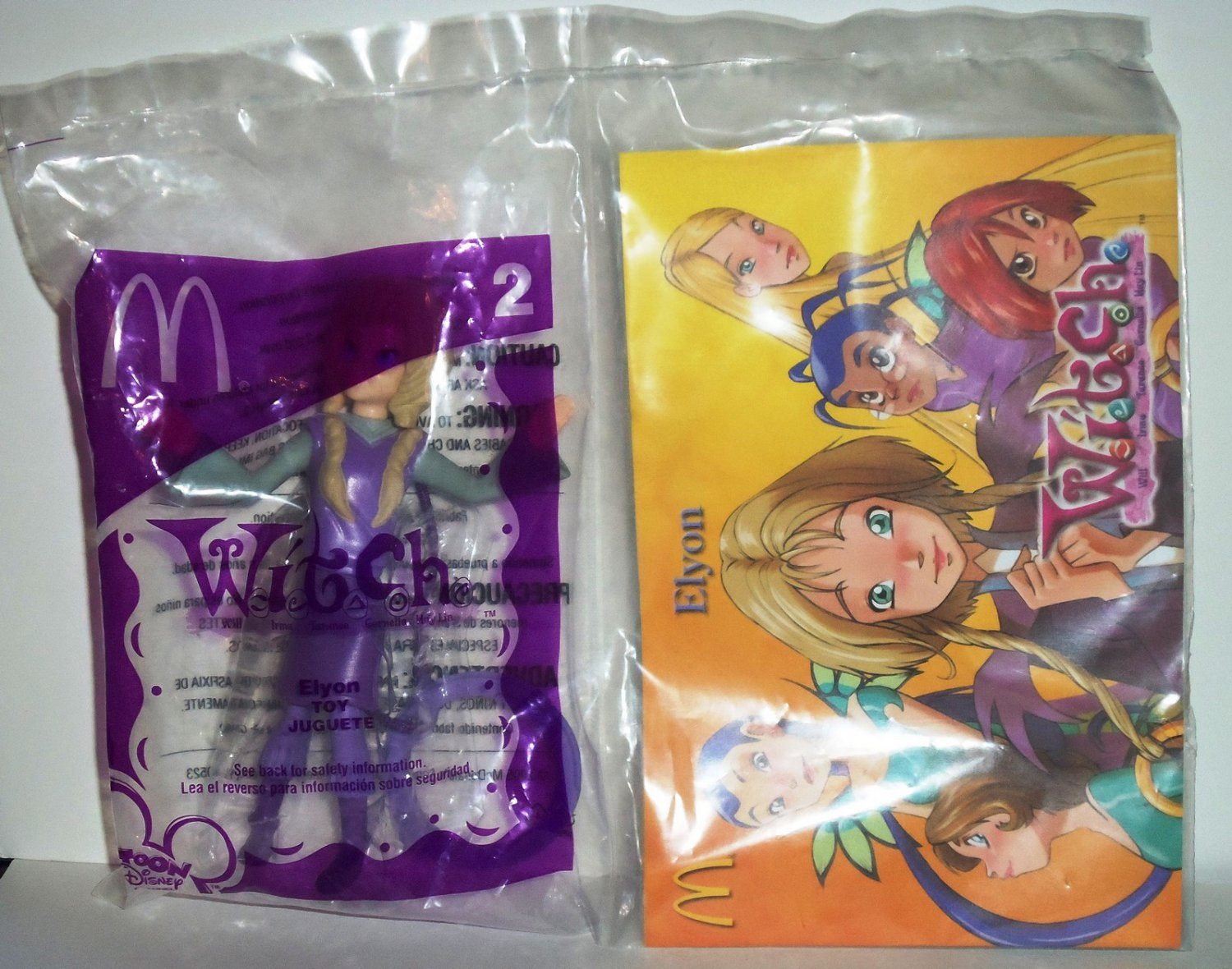 Mcdonald Disney Elyon Doll Happy Meal