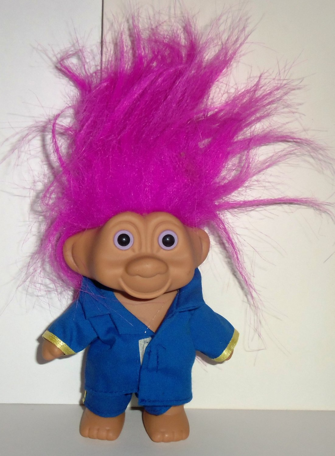 T N T 1991 5 Quot Troll With Light Purple Hair And Blue