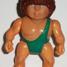 Playskool 1987 Definitely Dinosaurs Caveman Zindar Figure Action Figure Loose Used