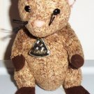 TY Beanie Babies Louis the Mouse No Swing Tag 2004 Loose Used