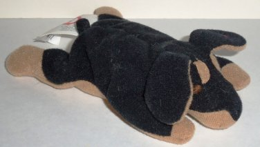 McDonald s 1998 Ty Teenie Beanie Babies Doby the Doberman Happy Meal Toy No Swing  Tag Loose Used e093935f3317
