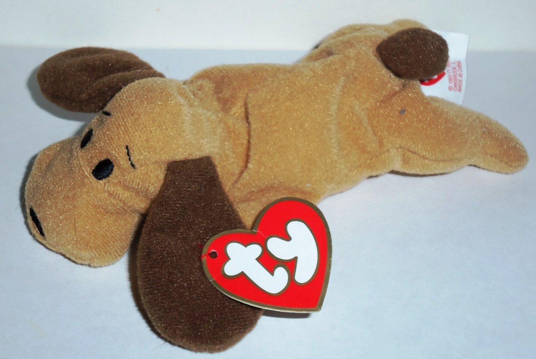 Mcdonald S 1998 Ty Teenie Beanie Babies Bones The Dog