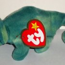 McDonald's 1999 Ty Teenie Beanie Babies Iggy the Iguana Happy Meal Toy w/ Swing Tag Loose Used