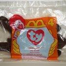 McDonald's 1997 Ty Teenie Beanie Babies Chocolate the Moose Happy Meal Toy in Original Packaging