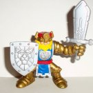 Fisher-Price Great Adventures Magic Castle Gold Knight King Figure 1999 Loose Used