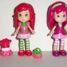 Hasbro 2008 Strawberry Shortcake Sweetest Styles Playset Incomplete Loose Used