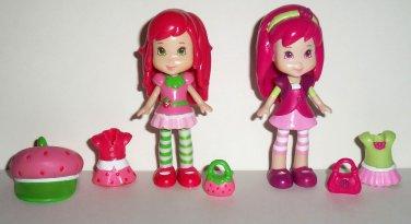Hasbro 2008 Strawberry Shortcake Sweetest Styles Playset Incomplete Loose Used