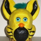 Burger King Furbies Yellow and Black Furby with Flapping Ears 2005 Kids Meal Toy Loose