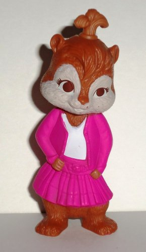 Mcdonald S 2010 Alvin And The Chipmunks The Squeakquel Brittany Happy Meal Toy Loose Used