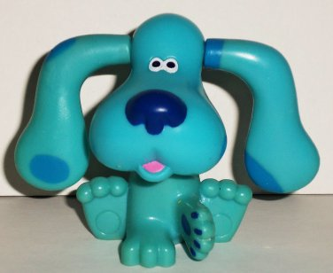 Subway 1999 Blue S Clues Blue With Flipping Ears Figure Kids Meal