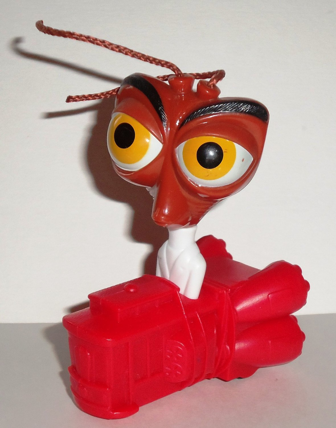 Mcdonald S 2009 Monsters Vs Aliens Dr Cockroach Ph D Happy Meal Toy Loose Used
