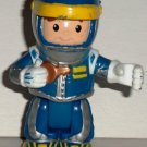 Fisher-Price Little People Race Car Driver Drew Poseable Figure Loose Used
