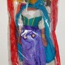 Burger King Disney's Hunchback of Notre Dame Esmeralda Hand Puppet w/ Open Bag